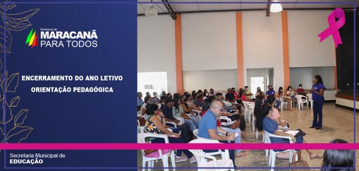 SECRETARIA DE EDUCAÇÃO PROMOVE FORMAÇÃO E ORIENTAÇÃO PARA DIRETORES DAS ESCOLAS MUNICIPAIS